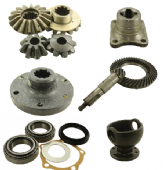 Swivel Pins, Hubs, Differentials, Axles & Shafts